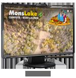 Camping Mons Lake